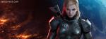 3D Girl Wearing Super Hero Constume