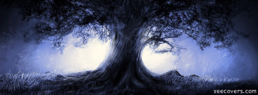 3D Old Tree FB Cover Photo HD