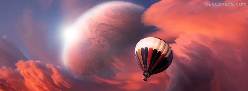 3D Parachute FB Cover Photo HD