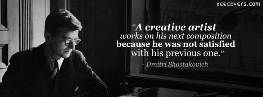 A Creative Artist… FB Cover Photo HD