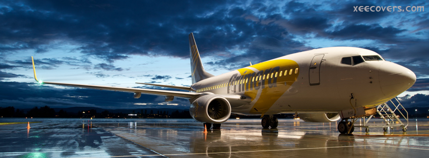 Airplane Ready To Say Good Bye FB Cover Photo HD
