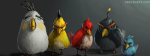 Angry Birds Painting