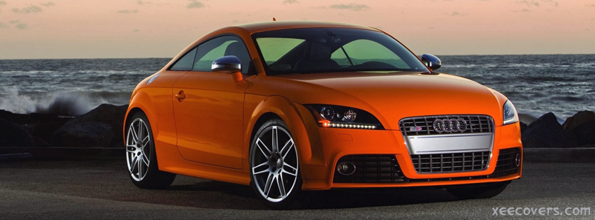 Audi TTS facebook cover photo hd