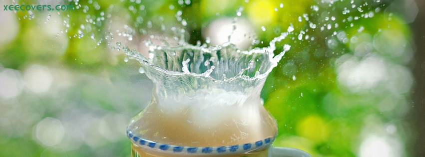 Awesome Softdrink In A Glass FB Cover Photo HD