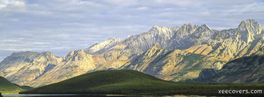 Awesome Weather With Mountains And Greenery FB Cover Photo HD