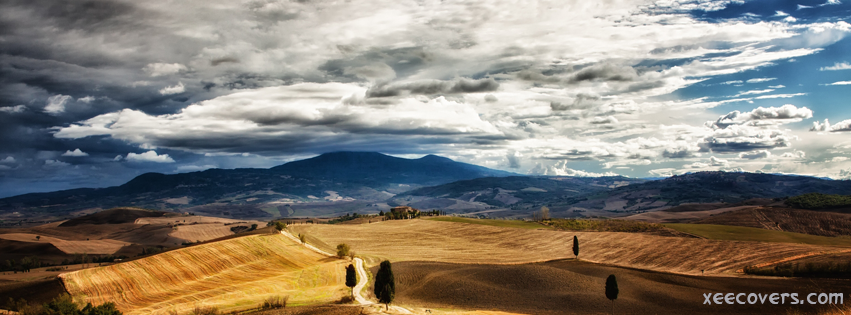 Beautiful Ground Landscape FB Cover Photo HD