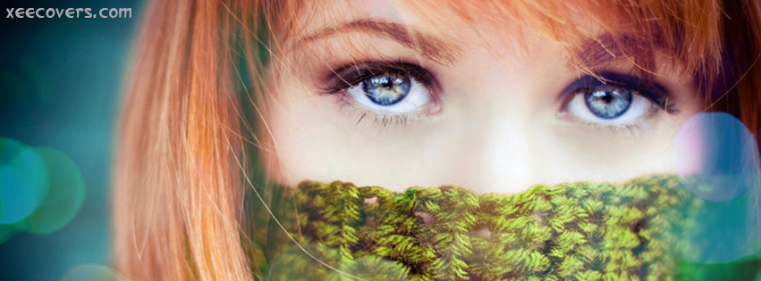 Beauty With Blue Eyes FB Cover Photo HD