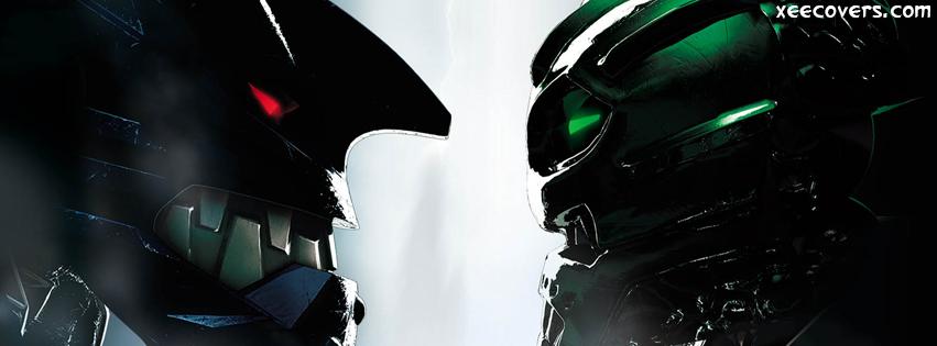 Bionicle Heroes FB Cover Photo HD