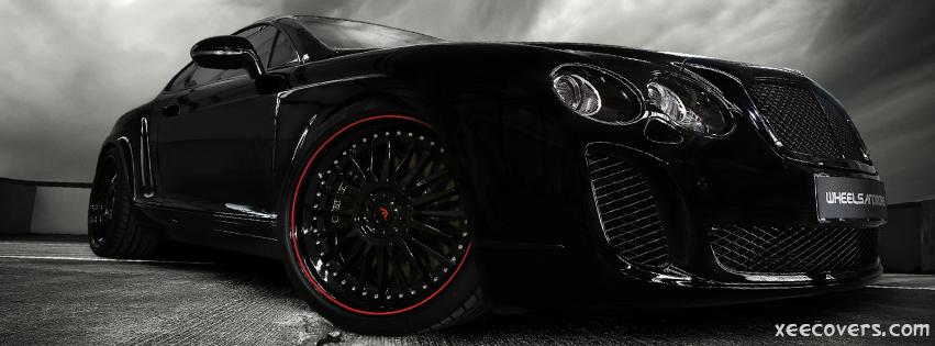 Black Luxury Vehicles: Black Luxury Car FB Cover Photo