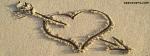 Broken Heart Made In Sand