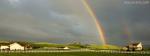 Cloudy Rainbow Scene