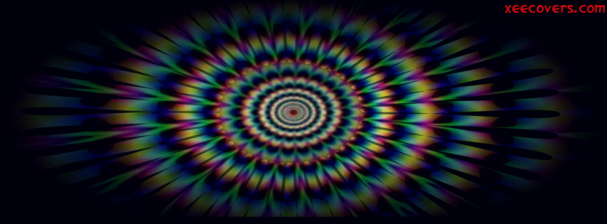 ColourFull Illusion facebook cover photo hd
