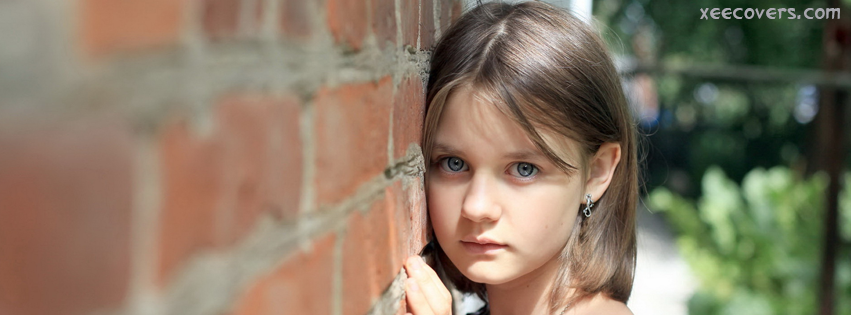 Cute Little Girl facebook cover photo hd
