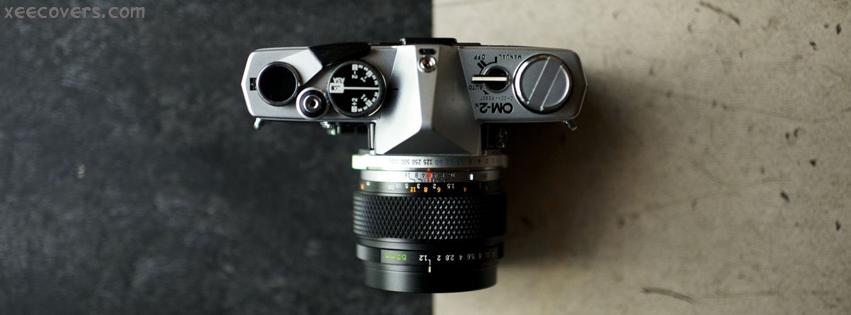DSLR Camera OM-2 facebook cover photo hd