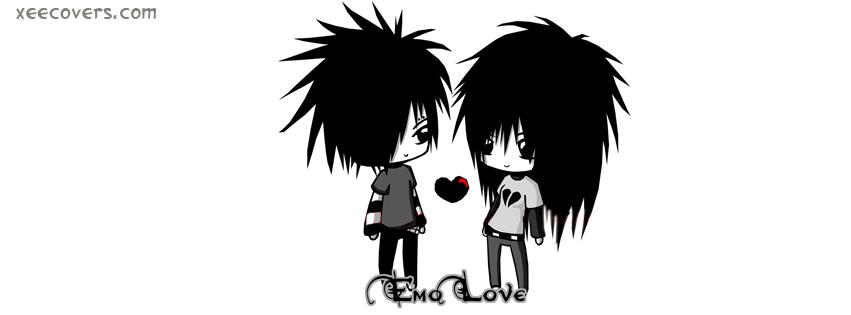 EMO Love FB Cover Photo HD