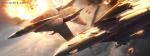 Fighter Jet Crashed