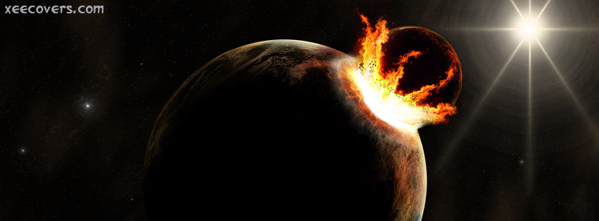 Fire Coming Out Of The Earth FB Cover Photo HD