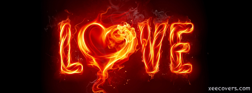 Fire Love FB Cover Photo HD