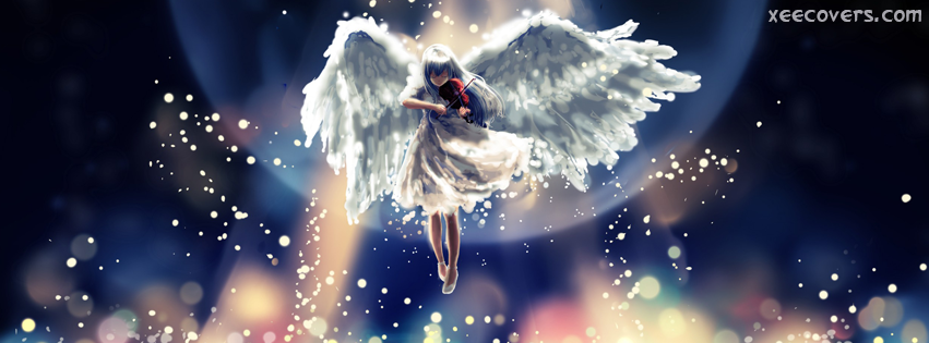 Flying Angel facebook cover photo hd