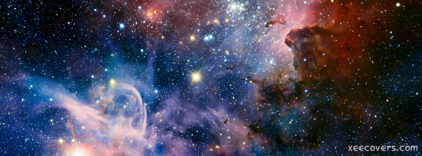 Galaxy And Stars FB Cover Photo HD