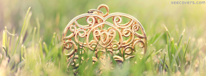 Golden Heart FB Cover Photo HD