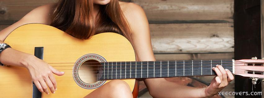 Guitar Girl FB Cover Photo HD