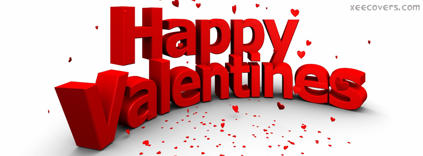 Happy Valentines FB Cover Photo HD