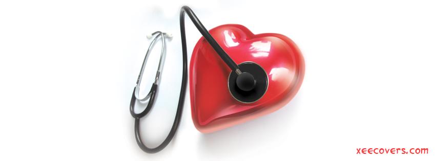 Heart Beat Checkup FB Cover Photo HD