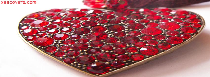 Heart Made Of Diamonds FB Cover Photo HD