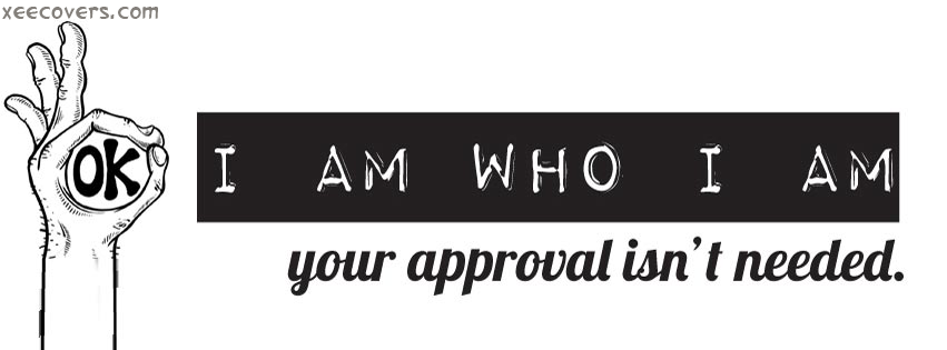 I Am Who I Am FB Cover Photo HD