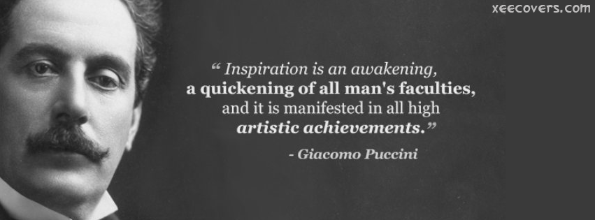 Inspiration Is An Awakening, FB Cover Photo HD