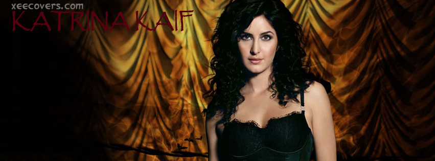 Katrina Kaif (Black) FB Cover Photo HD