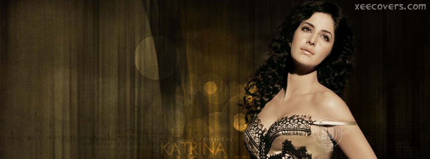 Katrina Kaif In Brown Dress FB Cover Photo HD