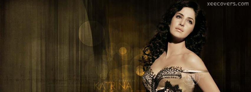 Katrina Kaif In Brown Dress FB Cover Photo HD