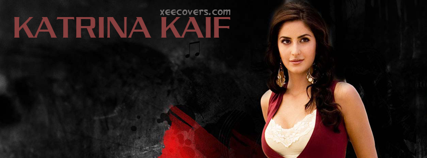 Katrina Kaif In Red FB Cover Photo HD