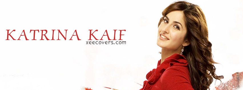 Katrina Kaif (Red) FB Cover Photo HD