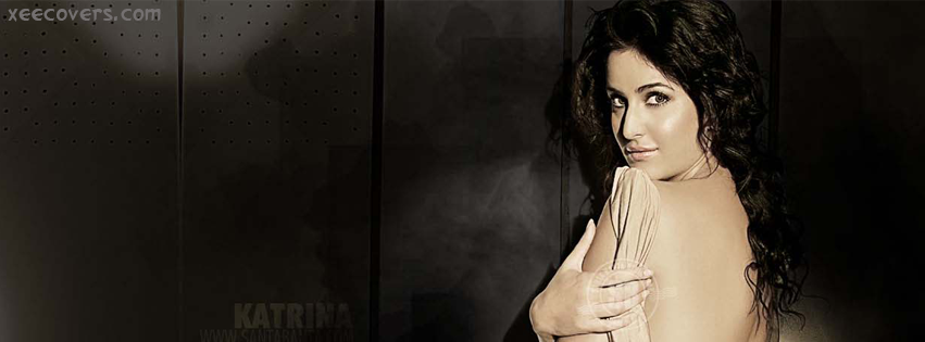 Katrina Kaif Showing Off Her Back FB Cover Photo HD