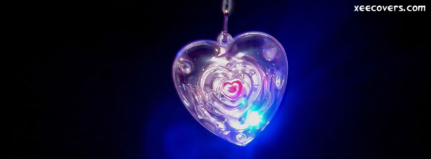 Lights In A Heart FB Cover Photo HD