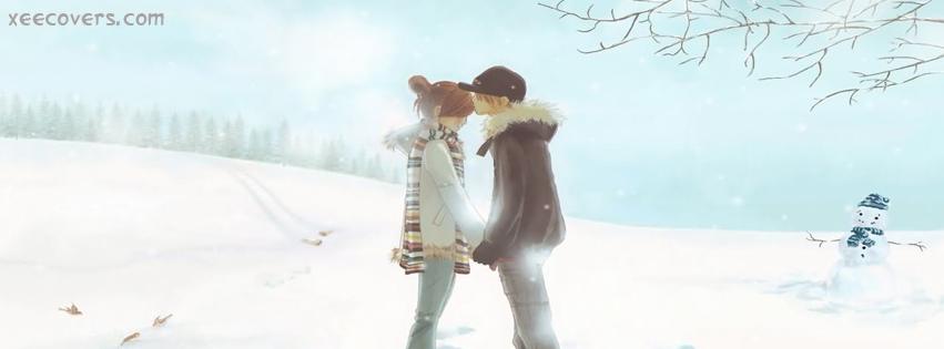 Love In Winter Season FB Cover Photo HD