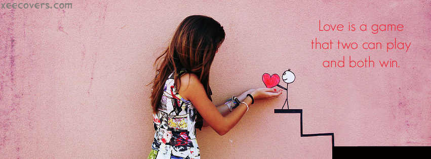Love Is A Game FB Cover Photo HD