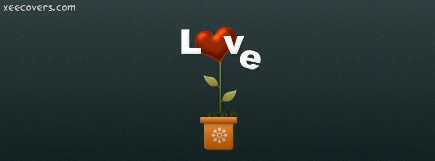 Love Plant FB Cover Photo HD