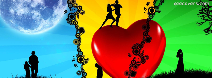Lovers Dancing FB Cover Photo HD
