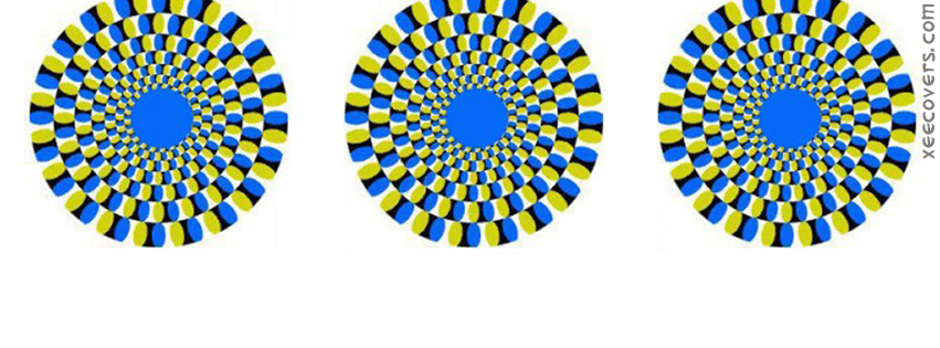 Optical Illusion For Kids facebook cover photo hd