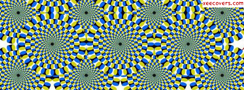Optical Illusion facebook cover photo hd
