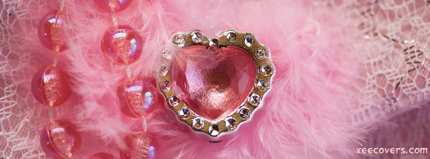 Pearls And Heart FB Cover Photo HD