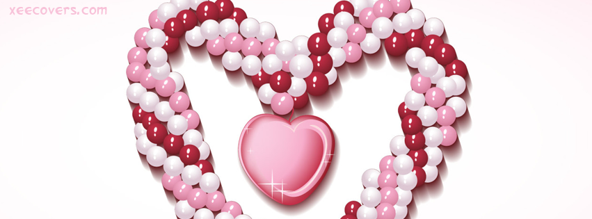 Pearls Heart FB Cover Photo HD