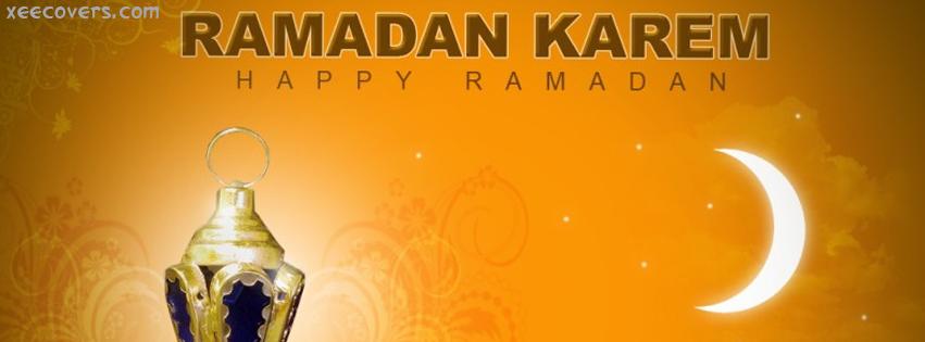Ramadan Karem facebook cover photo hd