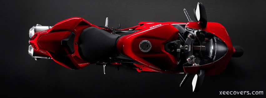 Red Heavy Bike FB Cover Photo HD