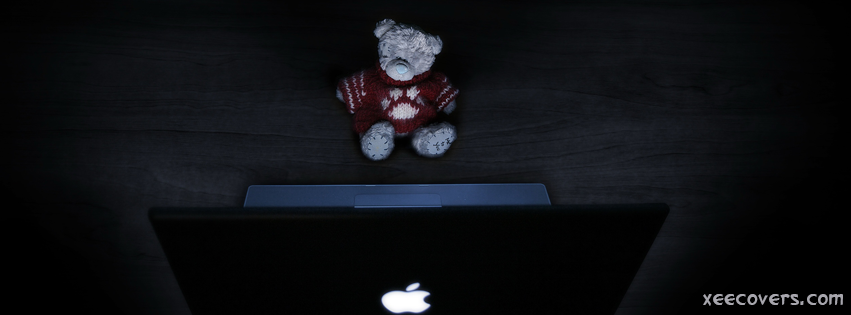Red Teddy Bear FB Cover Photo HD