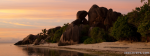 Rocky Beach Sunset Scene